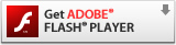 Get ADOBE FLASH PLAYER