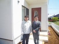 吉川市 新築一戸建て S様 「阿部さんからサポートして頂き、良い買物が出来たと思います。」
