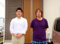 松伏町 新築一戸建て S様 「仲介手数料が0円という所がよかったです。」