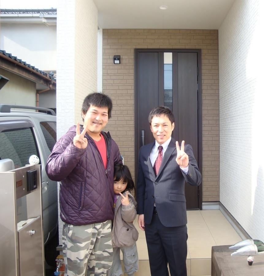 松伏町 新築一戸建て K様 「しっかりサポートしてくれたので念願のマイホームが買えました。」